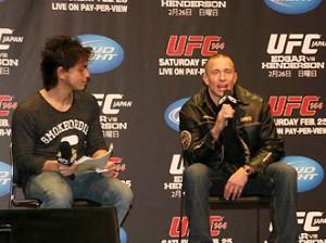 UFCウエルター級王者ジョルジュ・サンピエール