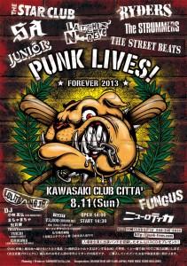 PUNK LIVES! FOREVER 2013