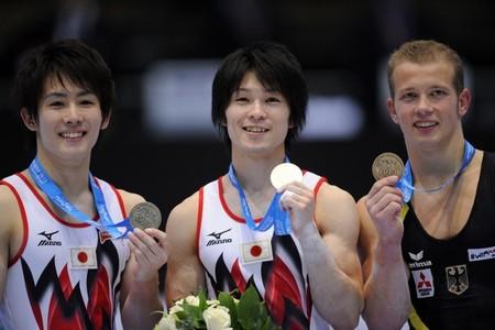 世界体操2013ベルギー男子個人総合 内村航平優勝特番