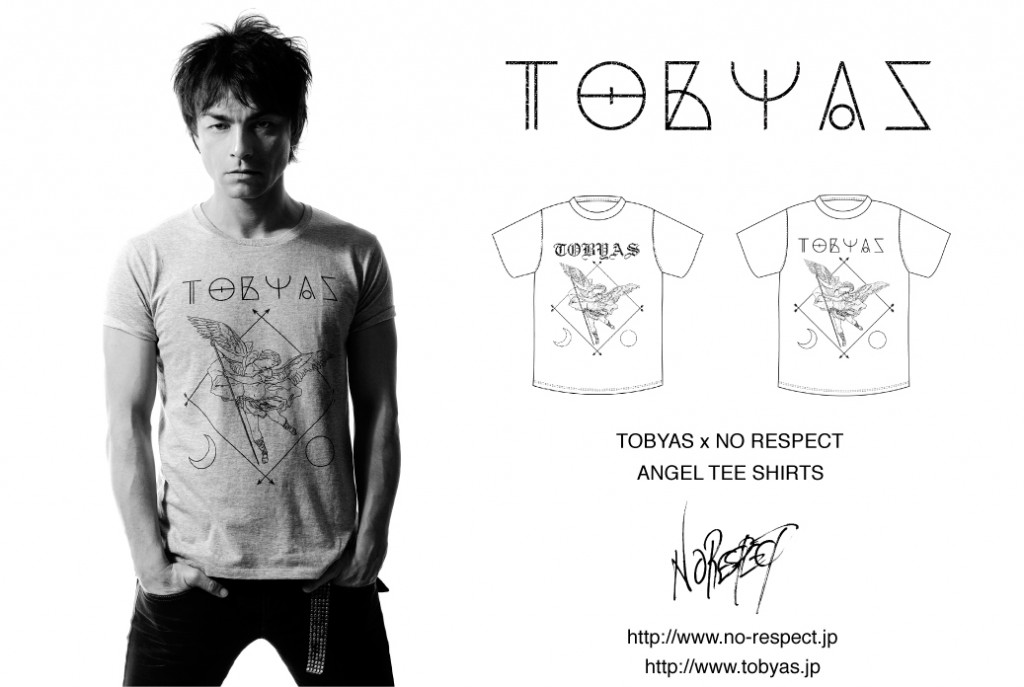 TOBYAS × NO RESPECT ANGEL TEE SHIRT!!!