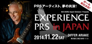 EXPERIENCE PRS in JAPAN