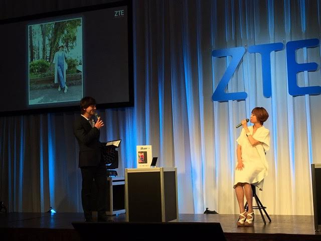 ZTE 2016夏 新製品発表会 with hitomi