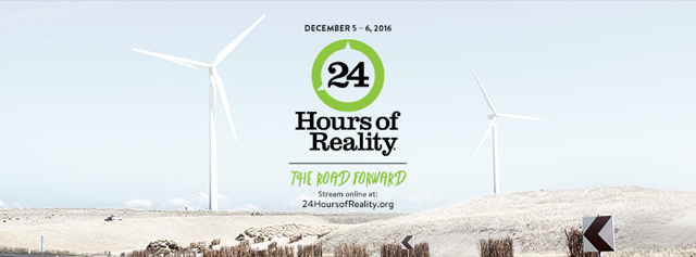 24 HOURS OF REALITY : THE ROAD FORWARD