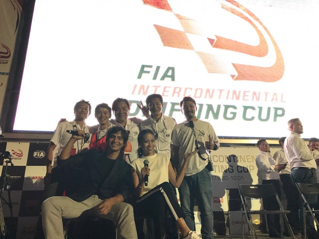 ドリフト世界一決定戦「FIA Intercontinental Drifting Cup」