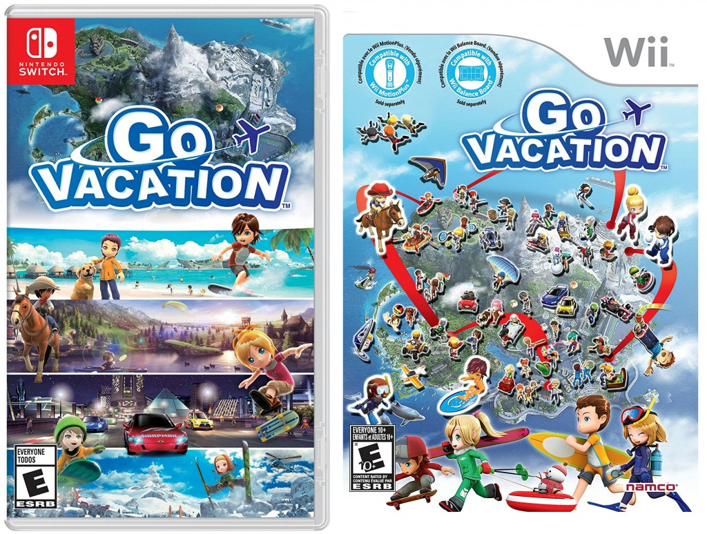 Nintendo Switch版『GO VACATION』